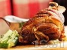Рецепта Лесни и вкусни варено печени свински джолани